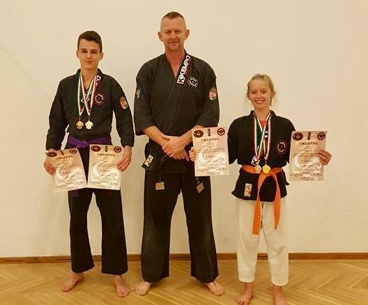 Osvald Hanna aranyat nyert Újfehértón